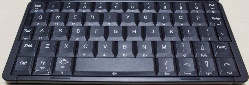 Gemini PDAのキーボード配列について